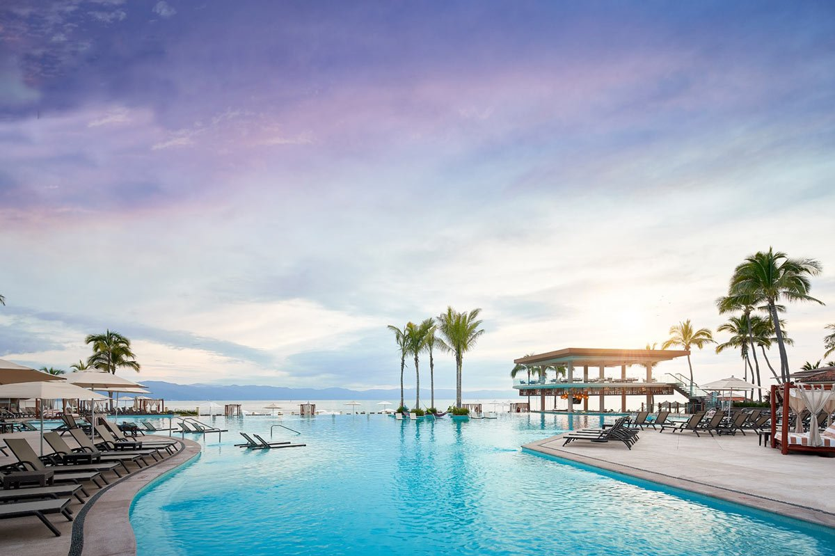 The Marriott Puerto Vallarta Resort & Spa is a short walk from the Puerto Vallarta Malecon.