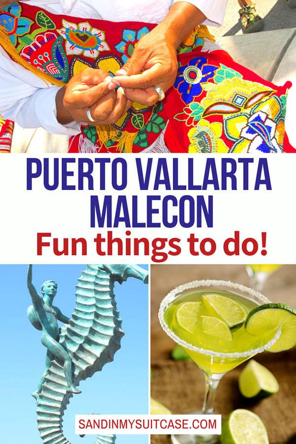 The Malecon, Puerto Vallarta