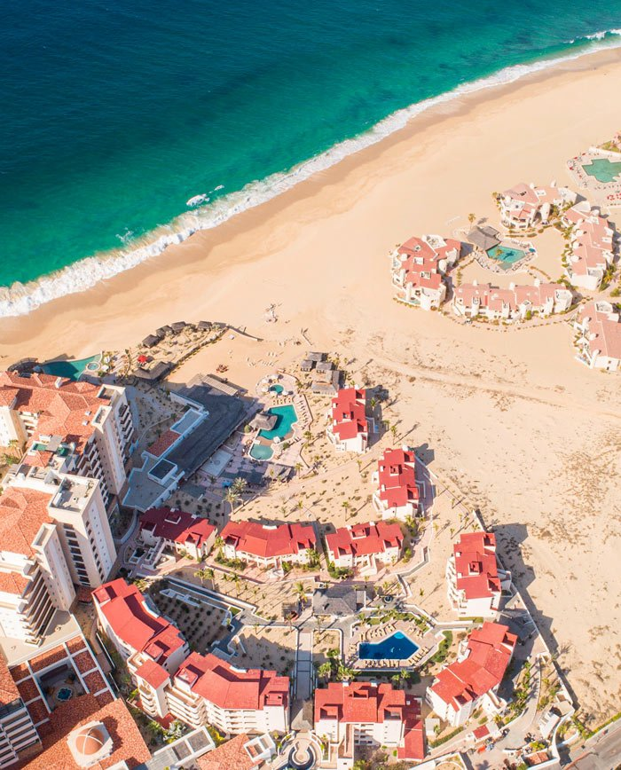 Playa Solmar boasts the cleanest and most beautiful sand!