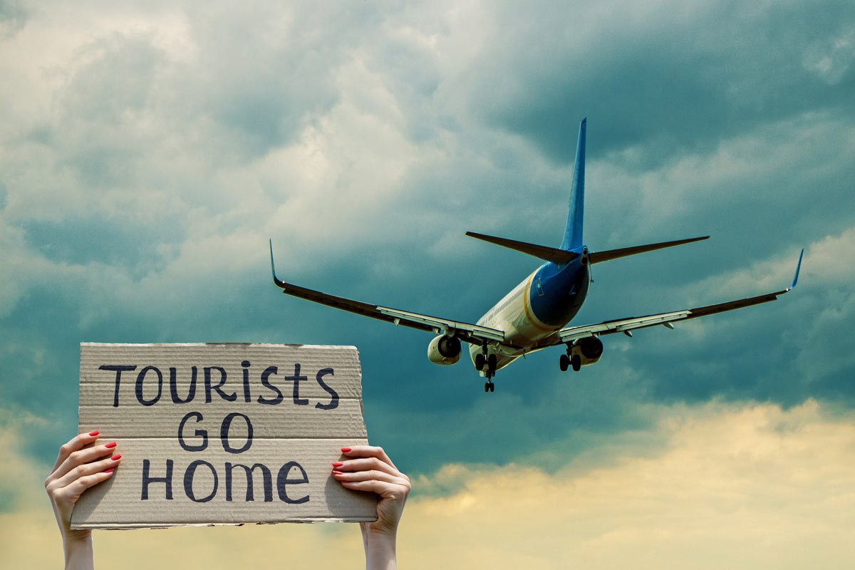 Don't be one of these tourists – go where you're welcome!