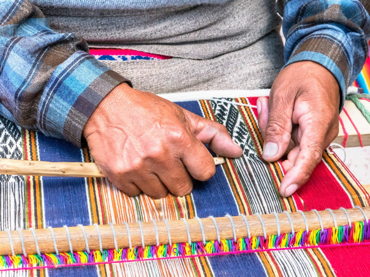 Responsible travelers look for crafts by local artisans when buying souvenirs.